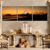 Home Decor Custom Modern Canvas Huile Wall Picture Landscape House Painting
