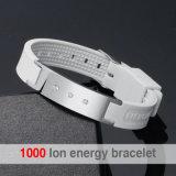 Freies Beispielpreiswertes kundenspezifisches Silikon-Armband für Energie (20003)