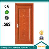 Porta de madeira de mogno do folheado da alta qualidade para casas