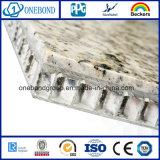 Steinaluminiumbienenwabe-Panel für Gebäude-Dekoration