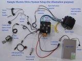 Motor de CC de 10kw//motor de motocicleta eléctrica del motor de barco eléctrico