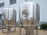 El tanque cónico de la fermentadora de las chaquetas del glicol del acero inoxidable 1bbl -300bbl