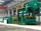 Machine de dérouillage de structure métallique