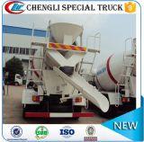 Foton Forland 4 * 2 141HP Caminhão de cimento misturador de concreto 2m3