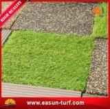 DIY блокируя искусственную плитку травы для домашнего украшения