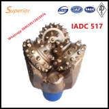 Água do gás de petróleo que perfura o bit Tricone para equipamento Drilling do hard rock IADC 517 API