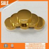 황금 알루미늄 플라스틱 모자가 38mm45mm53mm 산화에 의하여 시니 경기를 한다