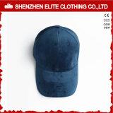 Оптовая изготовленный на заказ бейсбольная кепка бархата панели шлемов 6 способа (ELTBCI-19)