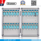Bloqueable 24 teclas de tamaño pequeño Caja de almacenamiento de aluminio portátil económico