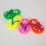 Flip-flops forma perro de juguete de vinilo juguete chillón