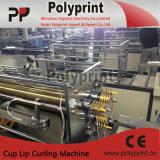 コーヒーカップのリップの縁のカール機械(PP-120)