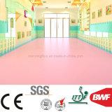 Jardín de Infantes suave Non-Toxic piso de vinilo de PVC Color sólido de 3mm