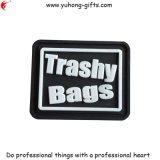 2016 PVC Rubber Label Patch para sacos (YH-L051)