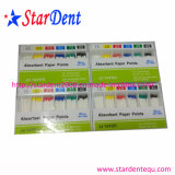 Puntos de Papel Absorbente Dental (15-80 #) Gpp de Materiales Dentales