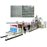 PC PET transparent tôle de toit de tuiles en carton ondulé Extrusion Machine Extrudeuse en polycarbonate