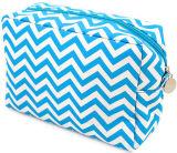 Une bande colorée Sac cosmétique de gros sac de toile de maquillage