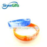 Wristband promozionale del silicone di colore di turbinio