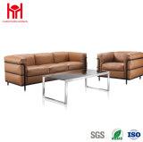 Sofà di cuoio moderno del sofà dell'ufficio con il sofà di svago, hotel caldo Furniuture di vendita,