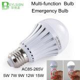 5W > 4 horas del tiempo LED de bulbo Emergency de la magia
