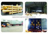 Transportband van de Schroef van het Cement van de Avegaar van Sicoma de Spiraalvormige Flexibele