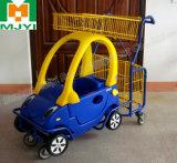 Carro de compras conveniente del supermercado de los niños