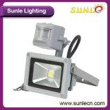 Flut-Licht-Garten-Flut-Lichter 10 Watt-LED (SLFL 10W-PIR)