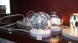 Voyant LED avec couvercle en verre 3D