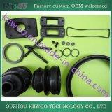 La gomma di silicone su ordinazione si è sporta profili e parte di modellatura