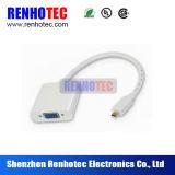 Cable de alta velocidad y conectores del VGA de HDMI