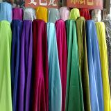 100%Acetinado de poliéster para vestir roupa tecido mais barato