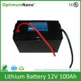 batterie profonde di Recahargeable della batteria di litio del ciclo di 12V 100ah