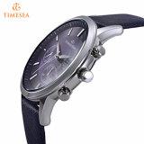 Os homens de couro azul Relógio analógico de quartzo 72501