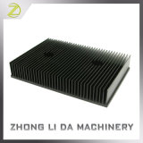 Disipador de calor de aluminio con la superficie anodizada