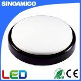 8 W/12W Deux IP54 Couleur LED ronde avec lampe de plafond EC RoHS