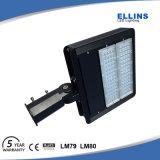 6500k日光の動きセンサーの駐車場LED Shoeboxの照明100W