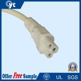 Approbation UL 3 Cores Plug 3 Pin America Cordon d'alimentation avec connecteur