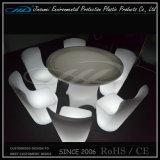 Éclairage LED Ensemble de meubles en plastique à l'extérieur pour bar Restaurant