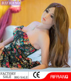 165cm胸の高品質の性のための固体シリコーンの性の人形