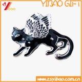 Изготовленный на заказ подарок ювелирных изделий эмали значка кнопки логоса (YB-HD-138)