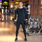 Vestito di forma fisica di sport delle calzamaglia di usura di compressione del Mens