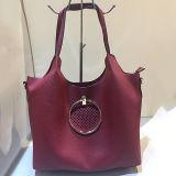 Sacchetto di spalla vuoto del Tote dei sacchetti delle donne di stile di acquisto delle borse di cuoio in linea dell'unità di elaborazione Sh123