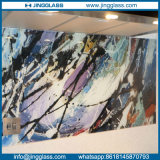 Niedrige Kosten-Kunst-dekoratives Glasfarben-Buntglas-Digital-Drucken-Glasglas