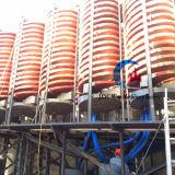 Attrezzatura mineraria dello scivolo a spirale per elaborare dell'ilmenite
