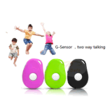 3G Taille Mini enfant Tracker GPS avec bouton SOS Personal GSM/GPRS/GPS tracker