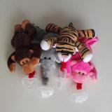 Het Stuk speelgoed van de Pluche van de Baby van de Houder van de Fopspeen van de Pluche van de Baby van het Stuk speelgoed van de Pluche van de douane