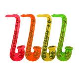 Parte de la familia de juguete de regalo de PVC inflable trompeta