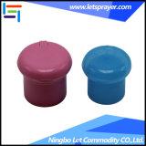 24/410 casquillo plástico verde de la tapa del tirón de los PP para las botellas del animal doméstico