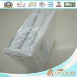 Protetor impermeável barato do Encasement da tampa do colchão da tela sintética do poliéster do hotel