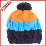 Bonnet en caoutchouc en tricot