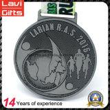 Medaille van de Sporten van Weightlifting van het Embleem van de Leeuw van het Afgietsel van de Matrijs van de douane de Goedkope